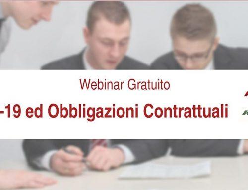 Covid-19 ed obbligazioni contrattuali FAQ